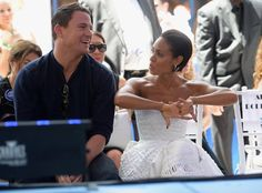 Pin for Later: If Channing Tatum Is Magic Mike, Then Jada Pinkett Smith Is Lady Luck