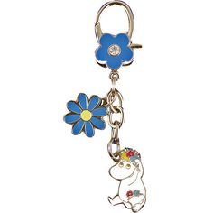 Bag hanger with beloved characters from the Moomin Valley!