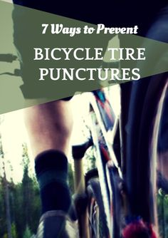 The signs of a flat tire are always dishearteningly distinct: the hissing of air, the wobble of the handlebars, and a frustrated cyclist pulling off to the side of the road. Sooner or later it happens to everyone, and it sucks when it's you. While it's true that not all punctures can be prevented, there are simple steps that you can take to avoid most common causes. Instead of waiting until you're the one star…