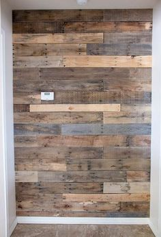 the easiest pallet wall ever, diy, home decor, home improvement, pallet