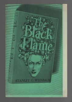 Scarce Original Advertising Leaflet for the Black Flame from Fantasy Press 1948