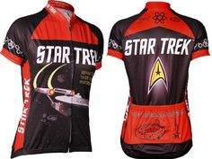 Amazon.com: Retro Women's Star Trek Cycling Jersey: Clothing, size medium  I need this in my life