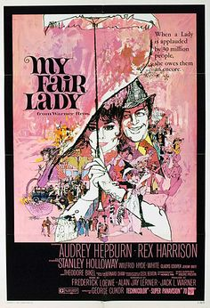 My Fair Lady LOOVE this movie! lol the costumes are GORGEOUS!