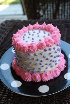 Miniature birthday cake