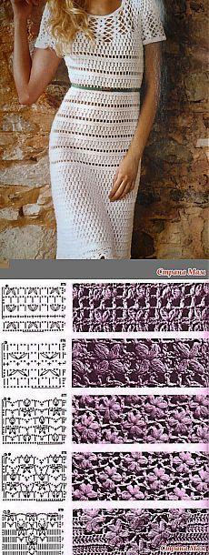 Белое платье - Вязание - Страна Мам