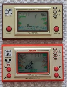 I remember when these were called bip bip games and were banned at school. 1980s Childhood, My Childhood Memories, Sweet Memories, Vintage Games, Vintage Toys, Game & Watch, Old Computers, Retro Video Games, Retro Toys