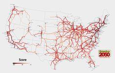 2050 National Rail Corridors