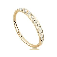 Karkötő 1133 gold-white - Karkötő Bangles, Bracelets, Gold, Jewelry, Jewlery, Jewerly, Schmuck, Jewels, Jewelery