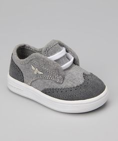 Smoke Chambray Defeo Sneaker by Creative Recreation on #zulily #cutiestyle