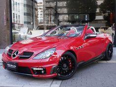 Mercedes Benz Slk 200, Convertible, Alfa Romeo Gtv6, Maybach, Black Opal, My Ride, Cool Cars, Automobile, Garage