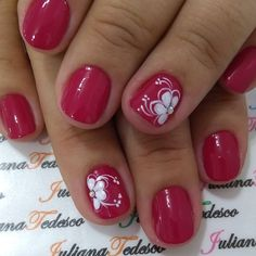Make an original manicure for Valentine's Day - My Nails Colorful Nail Designs, Toe Nail Designs, Beautiful Nail Designs, Vacation Nails, Nails Only, Instagram Nails, Super Nails, Flower Nails, Creative Nails