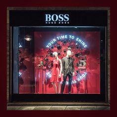 "HUGO BOSS, Stuttgart, Germany, ""Your Time To Shine"", pinned by Ton van der Veer"