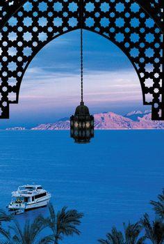 View of Tiran Island from the Four Seasons Sharm el Sheikh
