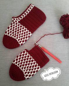 Best 12 my beautiful booties ( Crochet Sandals, Crochet Shoes, Crochet Geek, Crochet Yarn, Knitting Blogs, Knitting Patterns, Crochet Slipper Pattern, Knitted Slippers, Crochet Patterns For Beginners