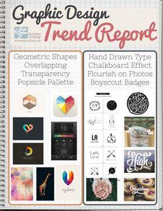 Graphic Design- Trend Report for early 2013 http://sjportfolio.net