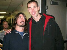 This is awesome lol.  Zdeno Chara and Dave Grohl