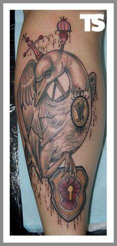 Tattoo by Tiny Miss Becca at Jayne Doe Tattoo in Hornchurch, UK Doe Tattoo, Swan Tattoo, Tattoo Blog, Becca, Artist At Work, Tattoo Inspiration, Tattoo Artists, Tatting, Tattoo Designs