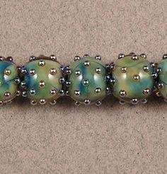 Evolving Crystal Triton Bling 5 Lampwork Glass Beads by Shani Barrett SRA | eBay