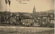 Vista general de Oviedo