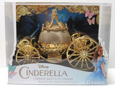Cinderella carriage bluetooth speaker!!! - Adorable New Cinderella Music Merch Fit for a Princess | News | Disney Playlist