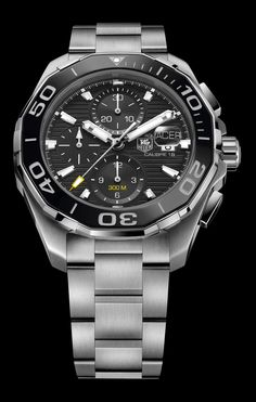 TAG Heuer Aquaracer 300M Ceramic Automatic Diver (stainless steel, ref. CAY211A-BA0927)