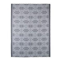 IKEA - SOMMAR 2016, Teppich flach gewebt, Auch für draußen geeignet - hält Regen, Sonnenlicht, Schnee und Verschmutzung stand.Flecken oder Verschmutzungen einfach abwischen oder den Teppich (ab)waschen und zum Trocknen aufhängen.