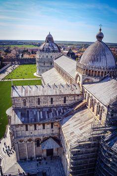 Catedral de Pisa y Baptisterio de San Giovanni (Pisa - Italy)