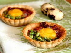 MInihuevos al plato con tartaletas de trigo sarraceno   El Invitado de Invierno