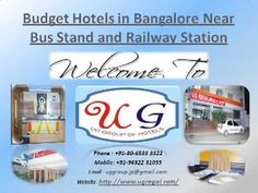 YouTube OF UG Regal Budget Hotels in Bangalore Near Railway Station