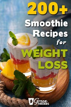 Whenever I need to lose a few pounds, I replace one or two of my meals with one of these meal replacement smoothie recipes and it fills me up really nicely until my next meal. Protein Fruit Smoothie, Green Smoothie Cleanse, Fruit Smoothie Recipes, Smoothie Diet, Fruit Recipes, Nutribullet Recipes, Blender Recipes, Spinach Recipes, Protein Recipes