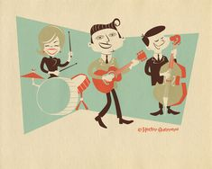Grasshopper Hill Design - Rockabilly Band