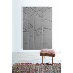 PUUT, acoustic piece of art. Peat to these acoustic panels comes from Finnish nature. Acoustic Panels, Ottoman, Art Pieces, Chair, Furniture, Organic, Home Decor, Nature, Decoration Home