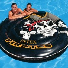Pick up a pirate pool lounger!  Doheny's Pool Supplies Fast has a wide variety of swimming pool floats.  Visit us at www.doheny.com for all of your pool supply and pool chemical needs.