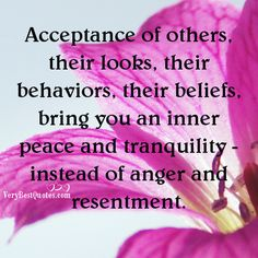 acceptance quotes | 18 Inspirational Picture quotes about Inner Peace Quotes and Peace Of ...