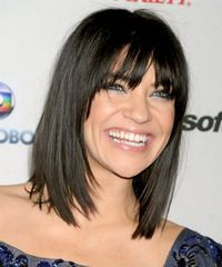 """Jessica Szohr Hairstyle - click to view hairstyle information. Love it. not TOO short. I don't want a """"mom chop"""""""