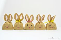 How to Make Easter Bunny Treat Bags