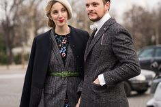 The Most Stylish Couples From Paris Fashion Week Photos | GQ