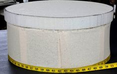 DIY Salvaged Spool Ottoman – The Owner-Builder Network Diy Ottoman, Ottoman Design, Ottoman Cover, Round Ottoman, Ottoman Table, Diy Furniture Projects, Easy Diy Projects, Boutique Decor, Ottoman In Living Room