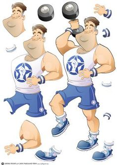 Get Fit Dude Blue Decoupage Sheet on Craftsuprint designed by Gordon Fraser - This Dude likes nothing more than hitting the gym first thing in the morning and last thing at night! Decoupage sheet version with loads of options to create your own designs. More versions of this Dude are available. Don't forget to check out my other Dudes and original designs. Just click on my name. Thanks for looking! - Now available for download!