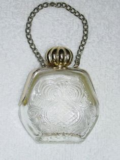 Vintage Avon Perfume Bottle Purse Petite via Etsy