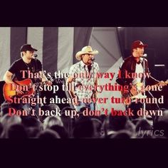 The Best men in country music! Eric Church, Jason Aldean and Luke Bryan!