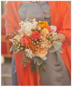 fall bouquet, wedding, fall wedding, autumn wedding, autumn bouquet, orange bouquet, rustic bouquet, bouquets, bouquet, fall, autumn, wedding, brown, rustic, orange, carnation, lily, rose, fall season, engagement,