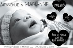 Le Studio de Tiphaine - Faire part de mariage et naissance, carte, affiche, à Toulouse, Pamiers, Blagnac et toute la FranceNoir et Blanc