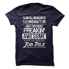 Clinical Research Coordinator - #bridesmaid gift #couple gift. WANT IT => https://www.sunfrog.com/LifeStyle/Clinical-Research-Coordinator-48721104-Guys.html?68278