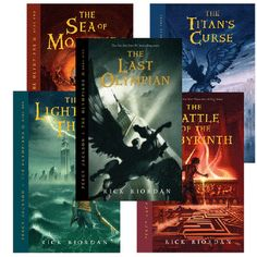 Percy Jackson & The Olympians Series - Rick Riordan is an amazingly talented writer who brings ancient greek mythology into the 21st century and makes it entertaining enlightening and endearing.