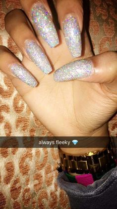 I hate the word fleek but love the sparkles!!!