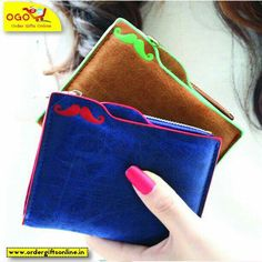 Everything trendy should be inside your pocket. Like these cute wallets can make for a good purchase. It doesn't hurt your pocket as the prices are reasonably placed. Buy one today. Simply whatsapp at 8800554402 to order.