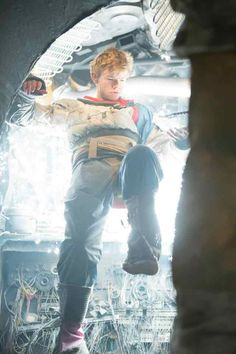 Thomas-Brodie Sangster in Orbit Ever After (2013).