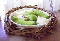 kids beds images   Кровать «птичье гнездо»
