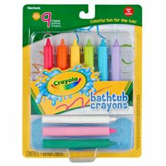 Shower crayons... for either writing stuff you think of in the shower, OR, drawing... of course.